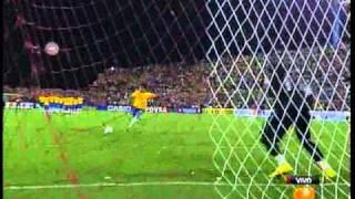 Copa América 2007 - Penales Brasil vs Uruguay