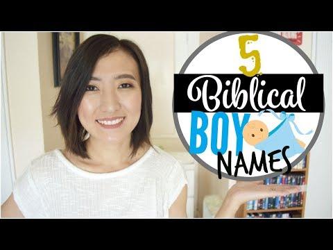 5 RARE & UNIQUE BIBLICAL BABY NAMES   FAVORITE BIBLICAL BOY NAMES