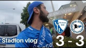 VfL Bochum - DSC Arminia Bielefeld | Irre Aufholjagd von VfL | #StadionVlog