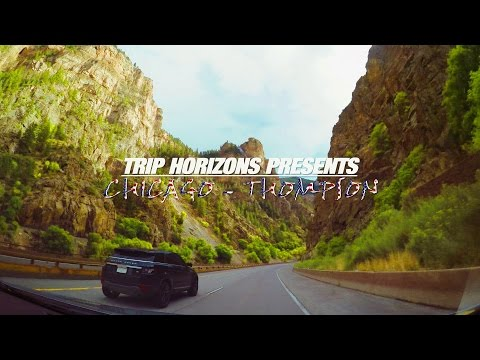 TRIP HORIZONS US ROAD TRIP - ROAD FROM CHICAGO TO UTAH 4K [EN]