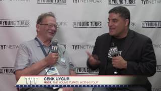 Larry Sanders Interview At 2016 Democratic National Convention