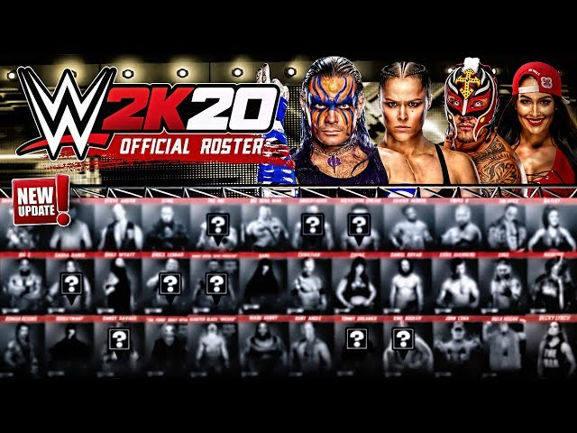 Wwe 2k20 Download Size On Pc Ps4 And Xbox One