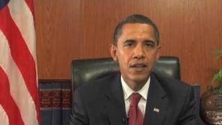 11/15/08: President-Elect Obama's Weekly Address thumbnail