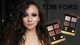 Tom Ford Body Heat & Double Indemnity Eyeshadow Color Quads