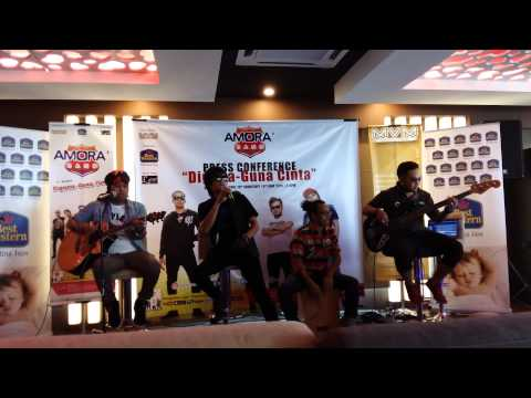 Amora Band - Modus (Modal Dusta) (Live Preview @ Amora Band KL Press Conference 2015)