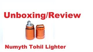 Unboxing/Review Isqueiro Numyth Tohil