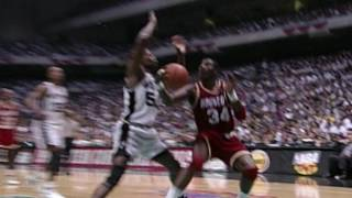 Rajon Rondo Displays Shades of Hakeem!