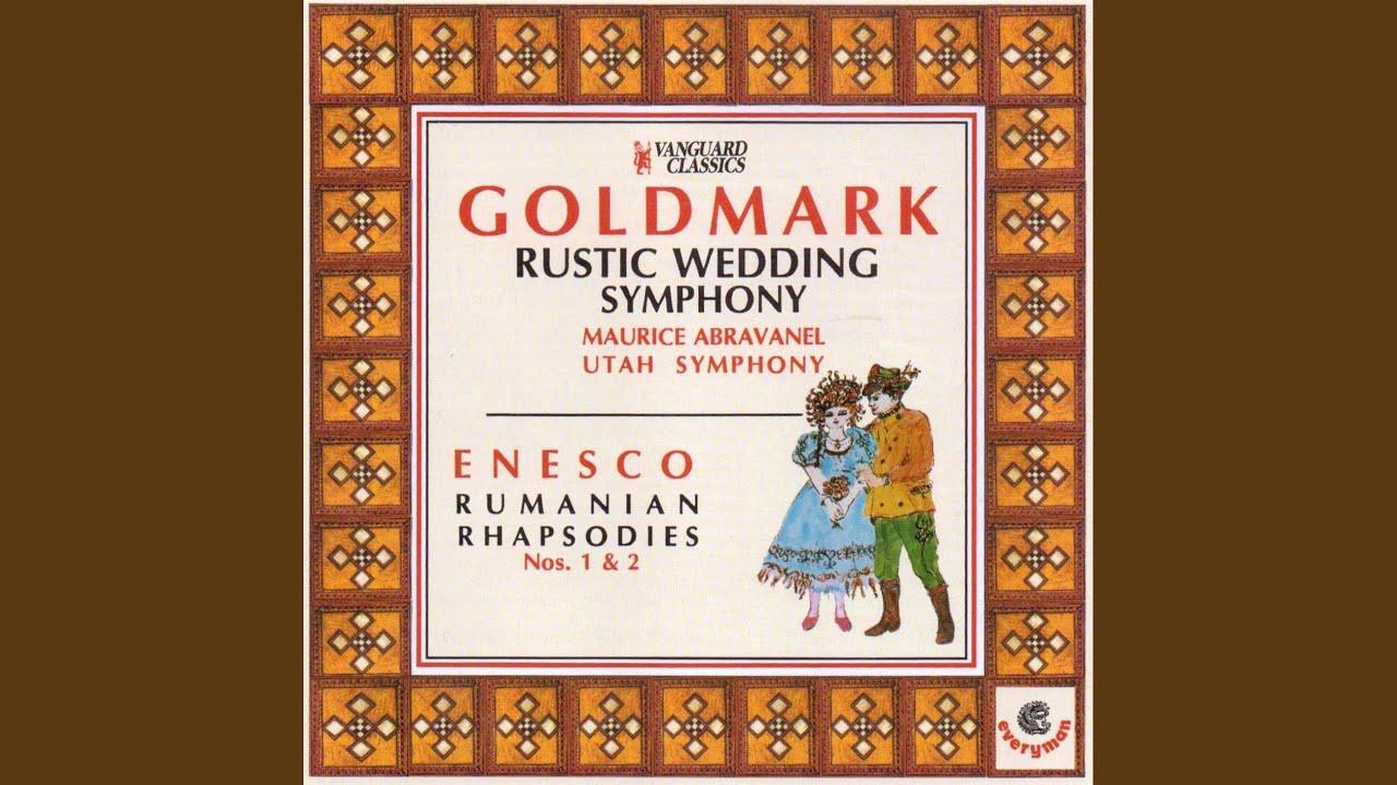 Rustic Wedding Symphony Karl Goldmark Brautlied Bridal Song Intermezzo