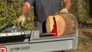 OREGON 28-ton, 22-ton, and 6-ton  Log Splitters