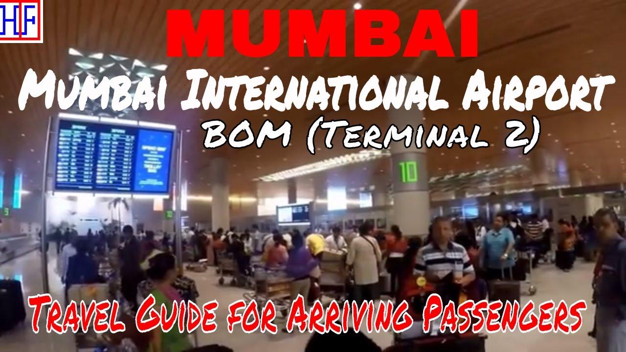 Mumbai International Airport - BOM (Terminal 2) Arrival & Transportation to  City | Information