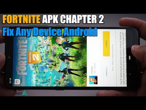 FORTNITE APK CHAPTER 2 BATTLE PASS New Season 11 Fix Any Device Not Supported