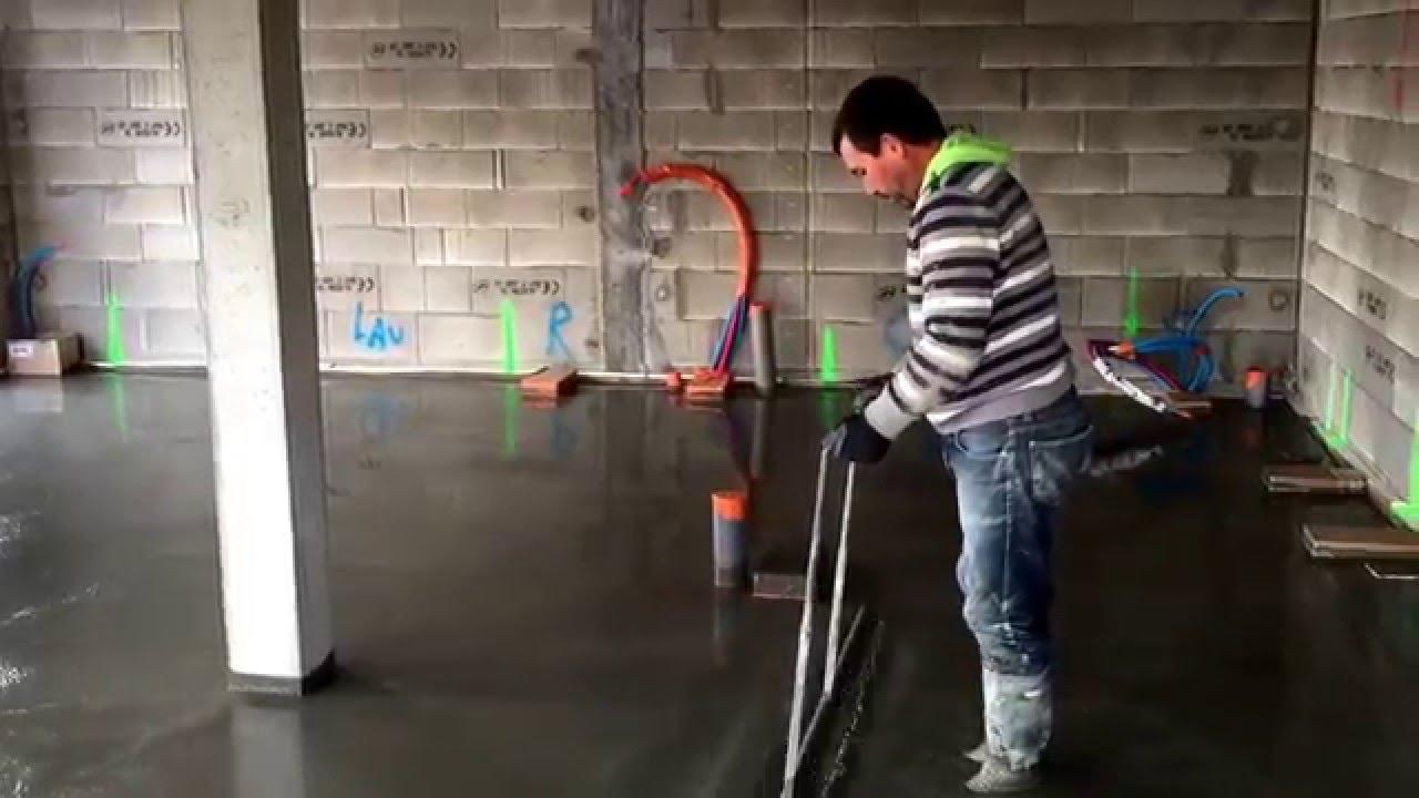 chape beton apres isolation youtube. Black Bedroom Furniture Sets. Home Design Ideas
