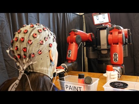Brain-controlled Robots