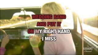 Miss Being Mrs. in the style of Loretta Lynn | Karaoke with Lyrics