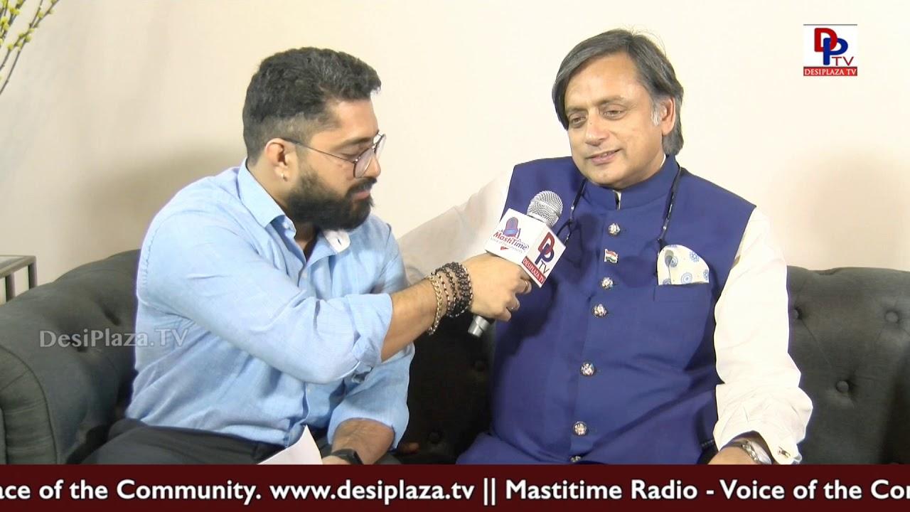 Congress will win 2019 Elections with big Margin - Shashi Tharoor