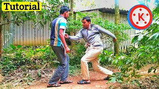 Fighting effect on KineMaster || How to make a fight scene in mobile || Best KineMaster editing