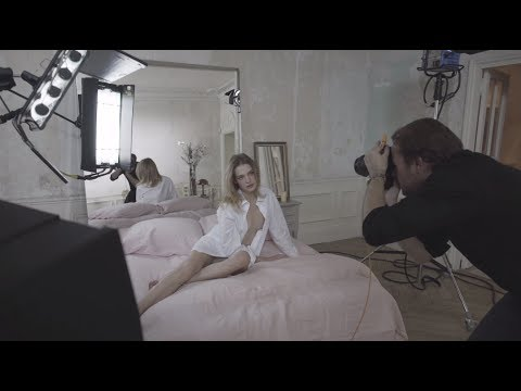 Behind The Scene with Natalia Vodianova for Aqua Nude - Guerlain