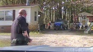 Dashcam Footage Shows Police Shootout in Huger, South Carolina