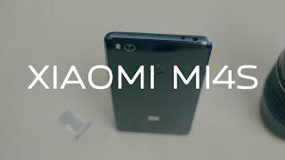 Xiaomi Mi4s распаковка, первый взгляд, первые впечатления.
