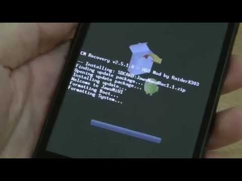 How to Install NAND Android on HTC HD2 with ClockworkMod Recovery?