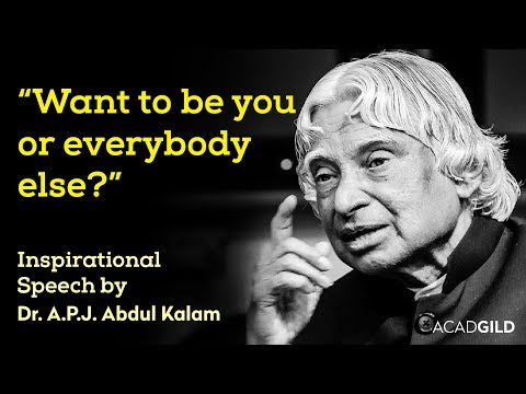 Abdul Kalam Motivational Speech | A.P.J Abdul Kalam Inspirational Speech | Culture of Excellence
