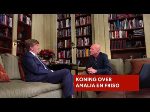 Koning Willem-Alexander over Friso en zijn dochters