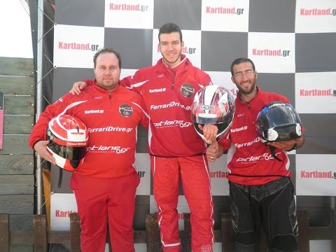 F1 Fans Kart Challenge Athens 2015 Race1 Group 2
