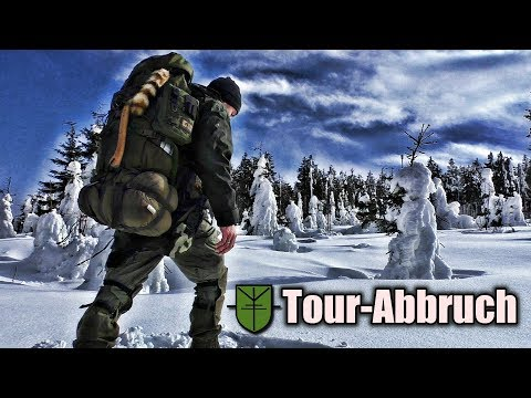 Bushcraft/Survival - Winterbiwak - Tour Abbruch :-(