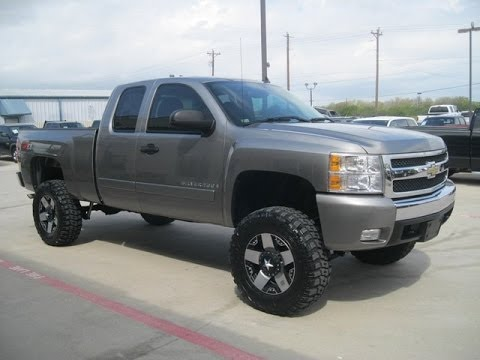 2007 Chevy Silverado 1500 Z71 7 5 Inch Rough Country Lifted Truck