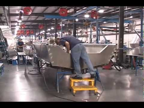 G3 Boats Factory Tour in Lebanon, MO.