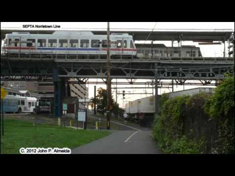 Ns 21e and nhsl at norristown transportation center september 7 2012