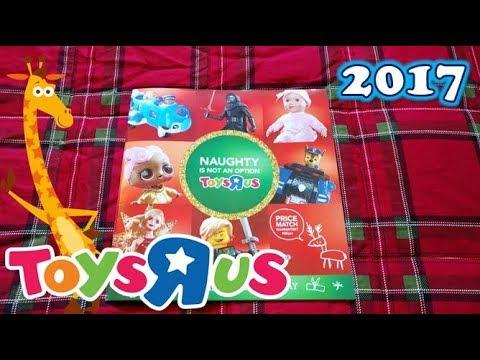 2017 Toysrus Holiday Toy Catalog Christmas Xmas Season