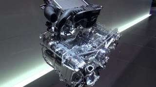 Motor Boxer Da Subaru Em Corte.
