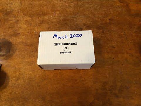 The Boombox Baseball March 2020!