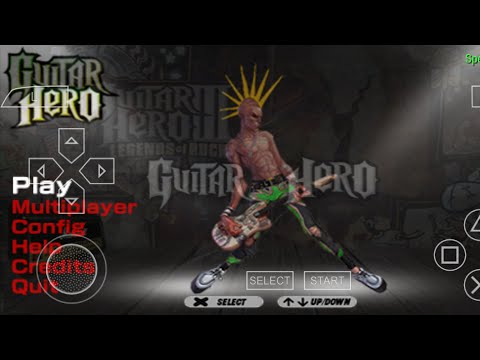 Game Guitar Hero Ppsspp