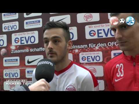INTERVIEWNACHLESE UND PK NACH OFC VS STUTTGARTER KICKERS