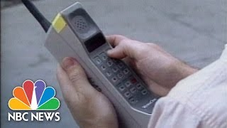 When Cell Phones Were A 1980s Novelty | Flashback | NBC News