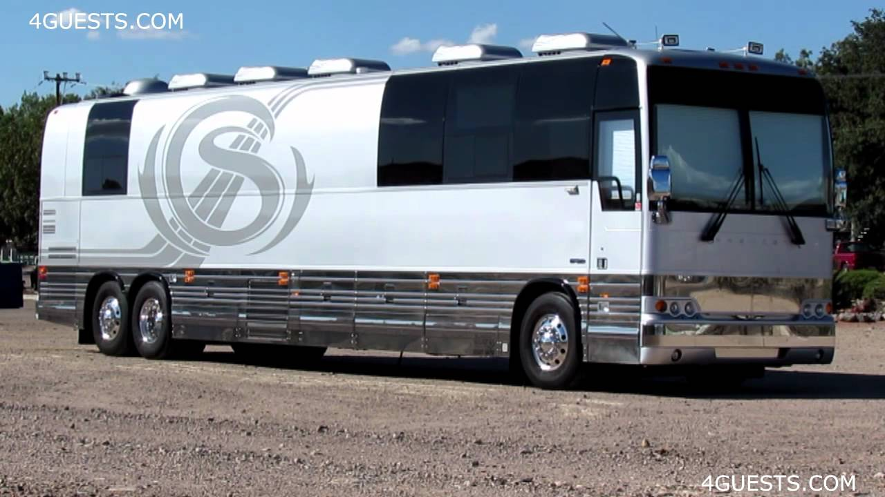 Senators Prevost Motorcoach Bus Entertainer Youtube