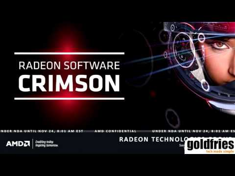 [Tech-Showcase] AMD Radeon Software : Crimson