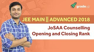 JEE Main | Advanced 2018 JoSAA Counselling: Opening and Closing Rank