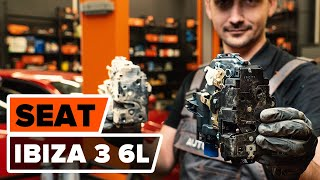 Hogyan cseréljünk Csapágyazás, kerékcsapágy ház SEAT IBIZA IV (6L1) - video útmutató