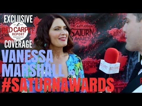 Vanessa Marshall #StarWarsRebels interviewed at 44th Annual Saturn Awards Red Carpet #SaturnAwards