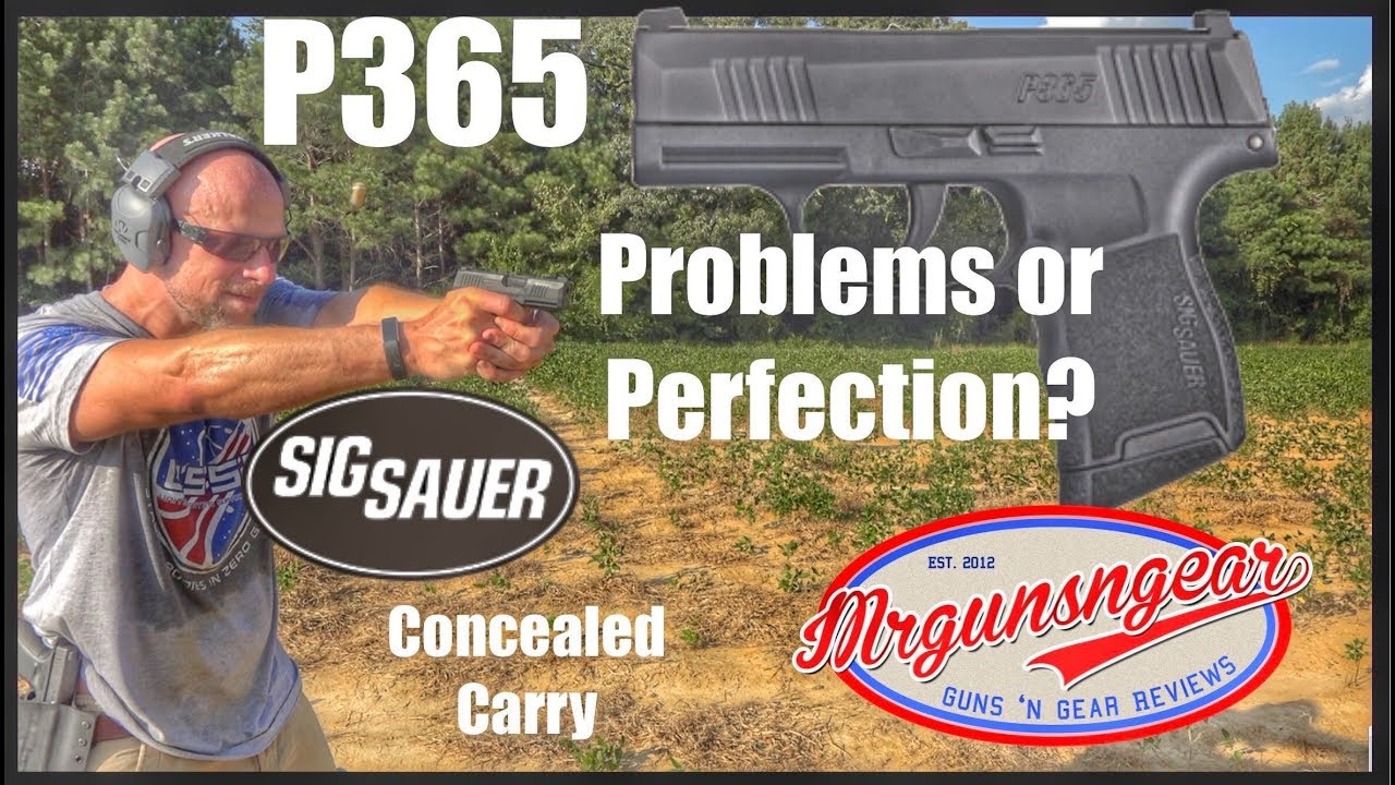 Sig Sauer P365 9mm Handgun Review: Concealed Carry Game