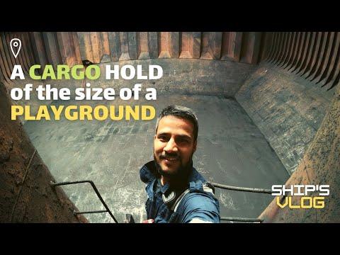 Cargo Discharging Operation on a Bulk Carrier | Life at Sea | Ship's Vlogs | Indian Sailor