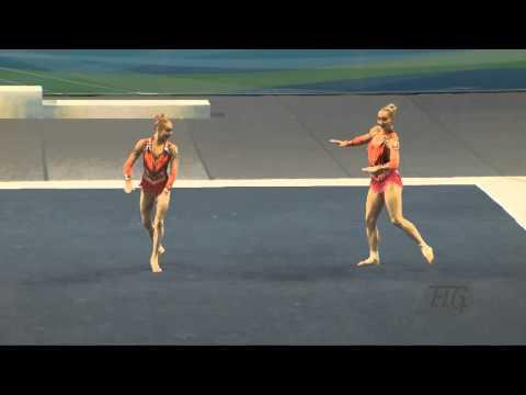 Belarus (BLR) -  2016 Acrobatic Worlds, Putian City (CHN) Dynamic  Women's Pair