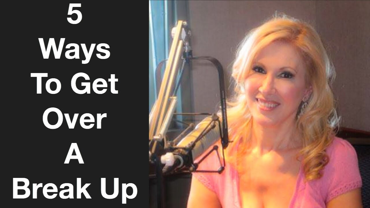 5 ways to get over a breakup