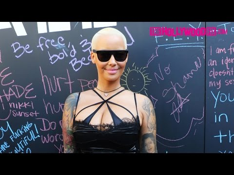 Amber Rose Walks In The 1st Annual Slut Walk In Downtown Los Angeles 10.3.15 - TheHollywoodFix.com