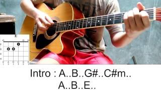 Armada - Asal Kau Bahagia ( Kunci Gitar + TAB )