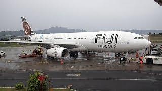 Fiji Airways Nadi to Sydney A330-200 Business Class