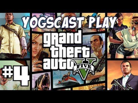 Grand Theft Auto 5 (GTA V) Part 4 - Princess Robot Bubblegum